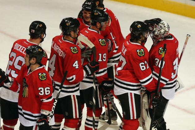 5 Key Stats from the Chicago Blackhawks' Record-Setting Streak