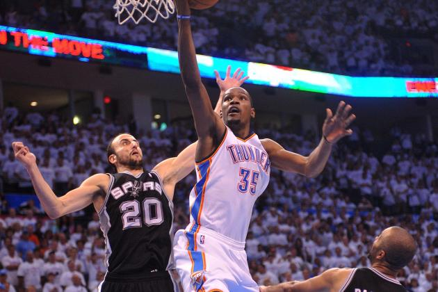 Comparing San Antonio Spurs and OKC Thunder at Every Position