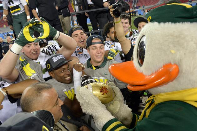 Oregon Football: Which Teams Are the Ducks' Biggest Rivals in 2013?