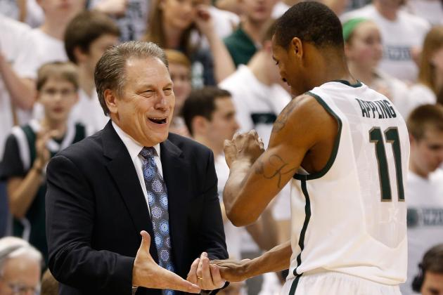 Michigan State Basketball: Final Regular-Season Grades for Spartans