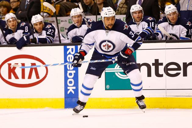 Winnipeg Jets: 4 Best Players from the First Half of the 2013 NHL Season