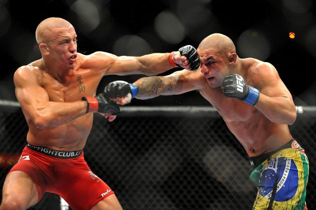 Power Ranking Georges St-Pierre's Top 10 Fights