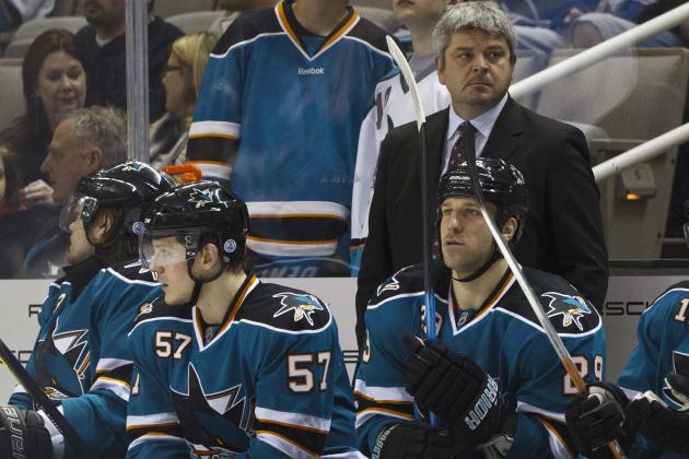 San Jose Sharks Unit Grades for First Half of 2013 NHL Season