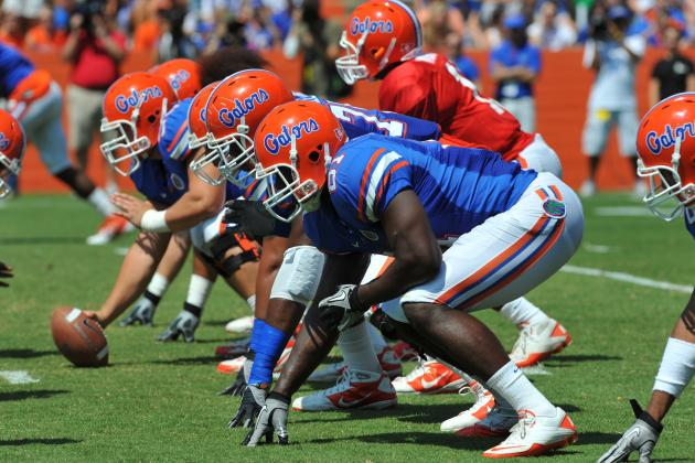 Florida Football: Pre-Spring Practice 2-Deep Depth Chart Predictions