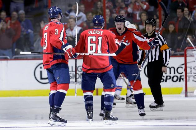 Updated Stats and Predictions for the Washington Capitals' 10 Best Players