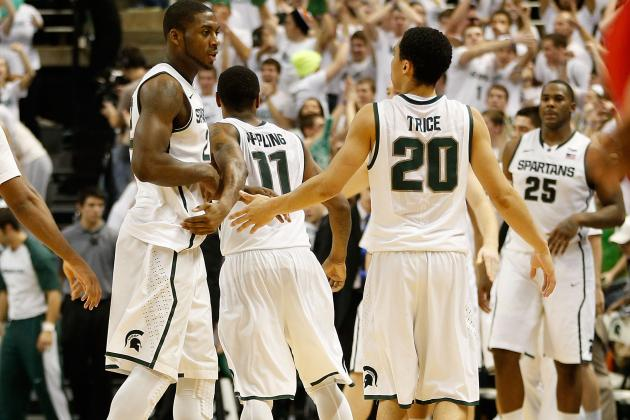 Michigan State Basketball: Best-Case, Worst-Case Scenarios in Big Ten Tournament