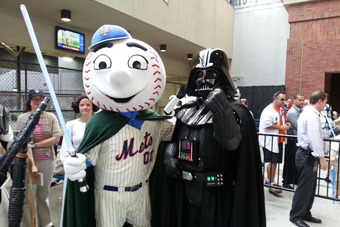 Recasting the New York Mets as Star Wars Characters