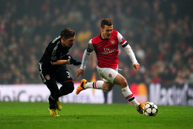 Bayern Munich vs. Arsenal: 2nd-Leg Predictions Post Jack Wilshere's Injury