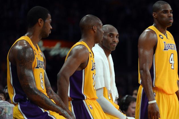 Describing Every Member of LA Lakers in a Tweet