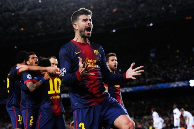 UEFA Champions League: Ranking the Quarterfinalists
