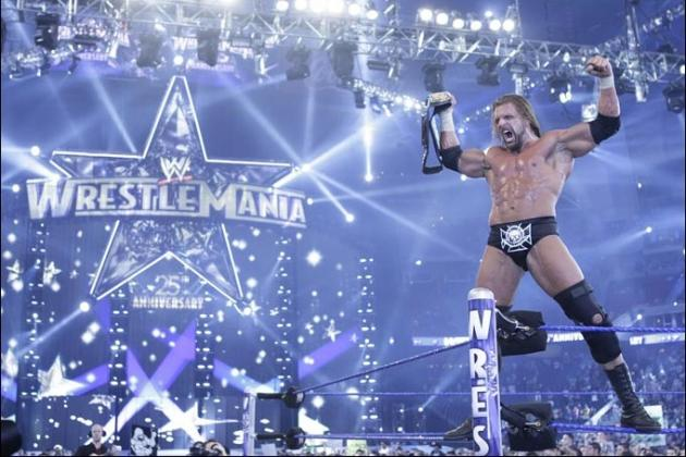 WWE WrestleMania 29: Ranking All of Triple H's Previous 'Mania Matches