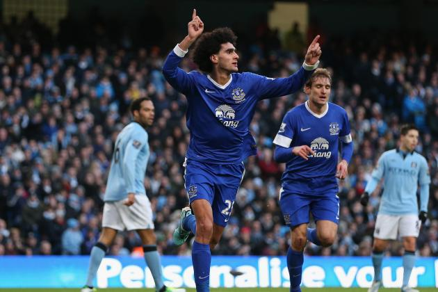 Man City: 5 Reasons Why Marouane Fellaini Would Be a Perfect Signing