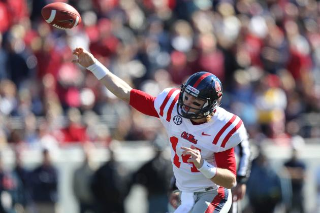 Ole Miss Football 2013: Power Ranking the Rebels' 5 Toughest Games This Season