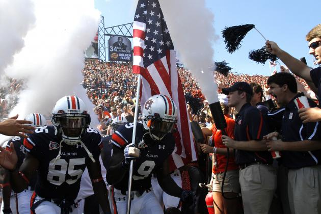 Auburn Football: Ranking the Hardest Games on Auburn's Schedule in 2013