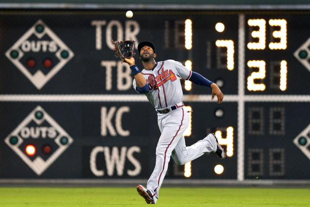 Braves Boast NL's Best Outfield with Heyward, Upton Brothers
