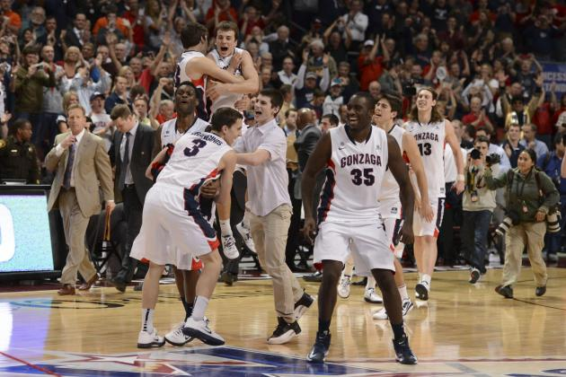 Ranking the Most Likely No. 1 Seeds in the 2013 NCAA Tournament