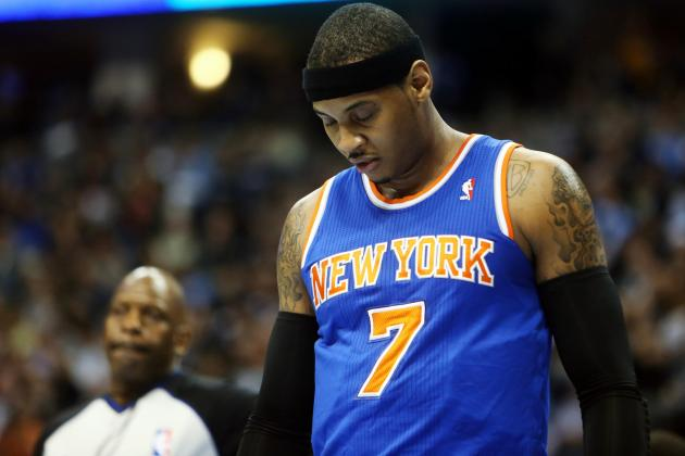 Carmelo Anthony: Breaking Down Knicks Star's Performance in Return to Denver