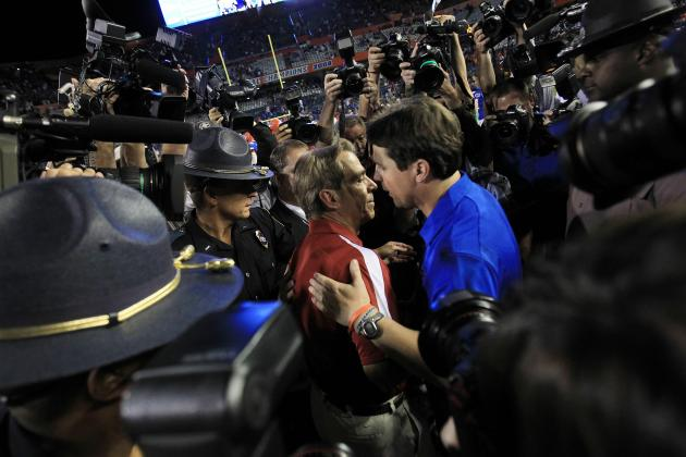 Florida Football: 5 Things Will Muschamp Does Better Than Nick Saban