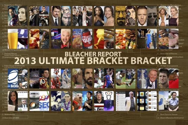 B/R's Ultimate March Pop Culture, Food and Sports Madness Bracket: Bracket 2.0