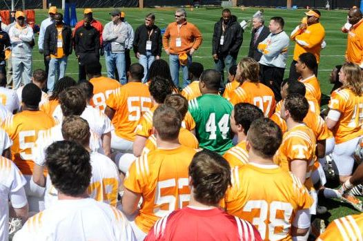 Tennessee Volunteers Football: Week 1 Spring Practice Stock Report