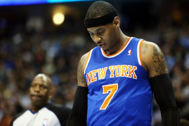 Ranking Carmelo Anthony's Most Disappointing Seasons Ever