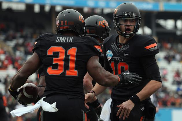 Oklahoma State Football: Week 1 Spring Practice Stock Report