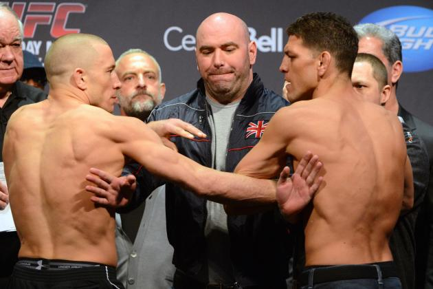 5 Reasons You Can't Miss UFC 158: GSP vs. Diaz