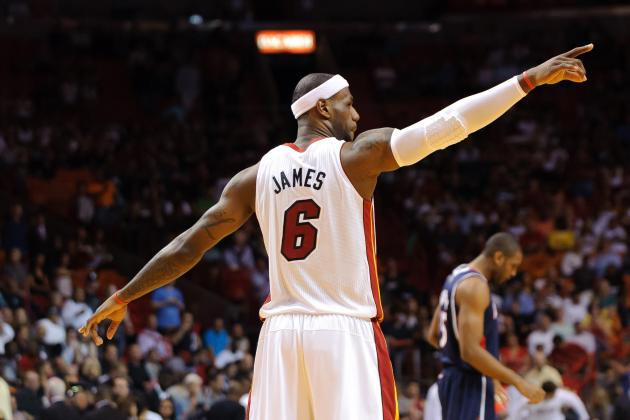 Updated NBA MVP Odds: Will LeBron James Enter Legendary Territory?