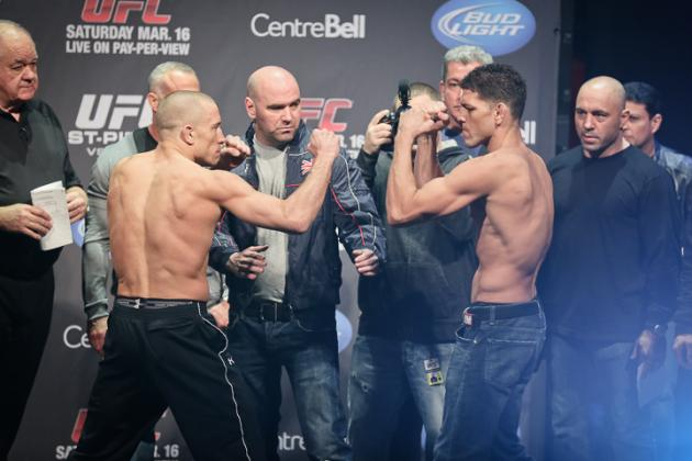 GSP vs. Diaz: Round-by-Round Recap and Analysis