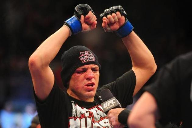 GSP vs. Diaz: 5 Fights for Nick Diaz to Take Next If He Doesn't Retire