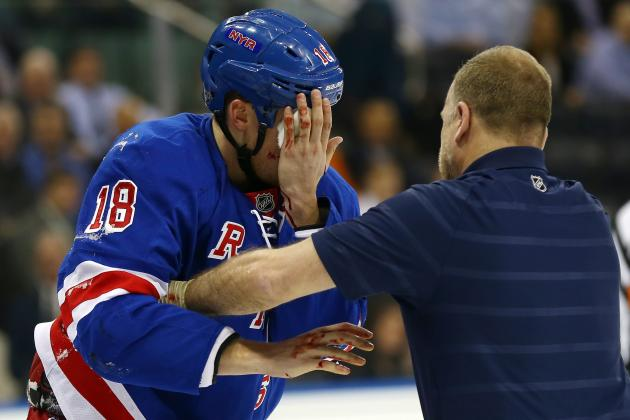 5 Most Injury-Prone NY Rangers