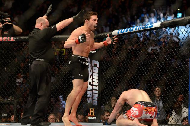 UFC 158: Power Ranking the Stoppage Victories