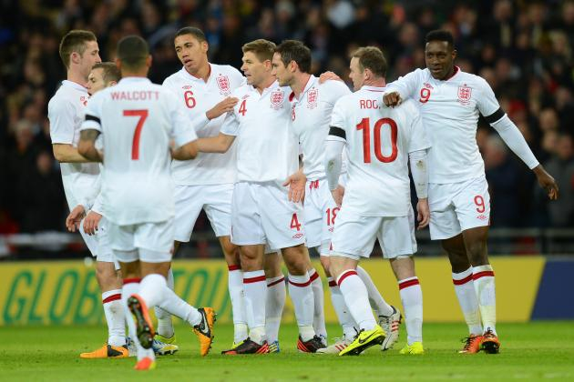 Picking the Best England Starting Lineup to Take on San Marino