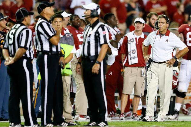 How Alabama Would Fare If Tide Played Notre Dame's 2013 Schedule