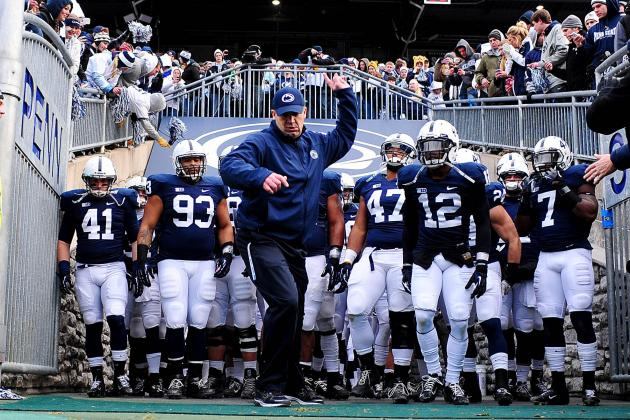 Penn State Football: Pre-Spring Practice 2-Deep Depth Chart Predictions