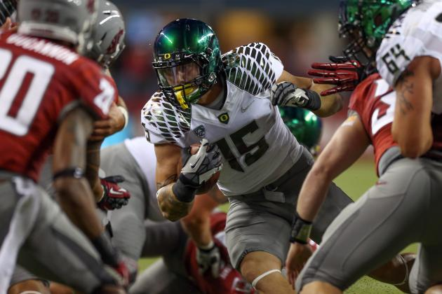 Oregon Football: 3 New Ways Mark Helfrich Can Use Colt Lyerla in 2013