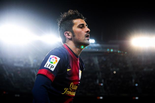 David Villa: Arguments for and Against Him Staying at Barcelona
