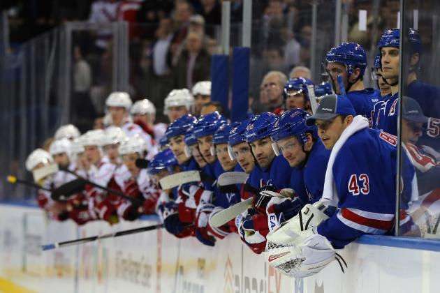 Power Ranking NY Rangers Players by Importance