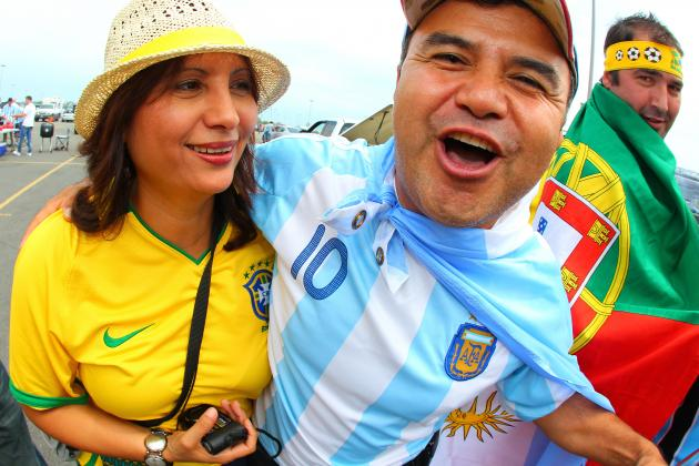 Power Ranking the 25 Best Soccer Nations Based on Per Capita
