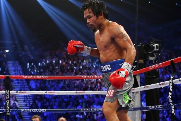 Ranking Manny Pacquiao's Best Options for Next Fight