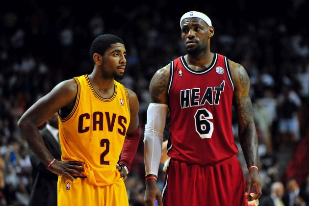 Where LeBron-Kyrie Combo Would Rank Among NBA's Elite Duos of Last Decade