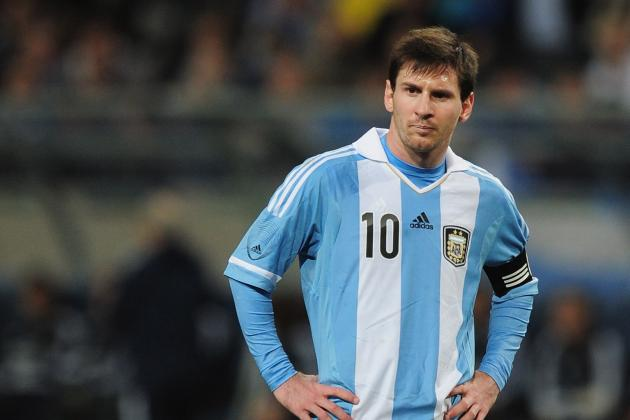 Charting Lionel Messi's International Highs and Lows with Argentina