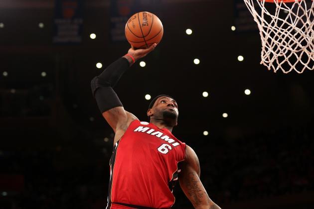 LeBron James' Most Impressive Stat Lines for Miami Heat This Season