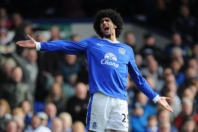 Marouane Fellaini: 5 Most Likely Summer Destinations for Everton Star