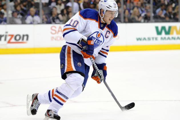 4 Reasons the Edmonton Oilers Need Shawn Horcoff in the Lineup