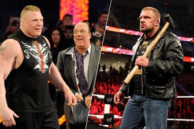 5 Reasons Why Brock Lesnar vs. Triple H at WrestleMania Is a Terrible Idea