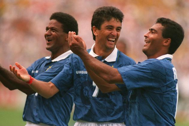 World Football: Bebeto Baby Is Latest Famous Father and Son Football Team