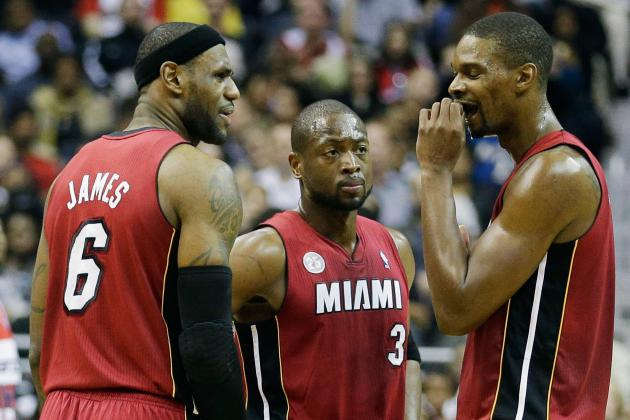 Ranking Most Impressive Feats in Miami Heat's Big 3 Era