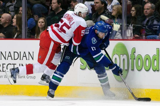 Niklas Kronwall's Top 10 Most Devastating Hits with the Detroit Red Wings