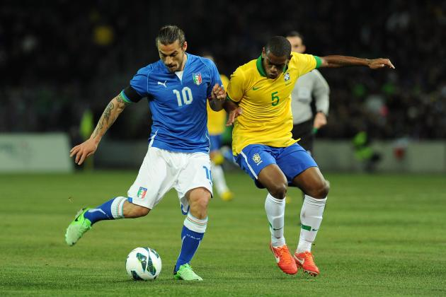 Italy vs. Brazil: 6 Things We Learned from International Friendly